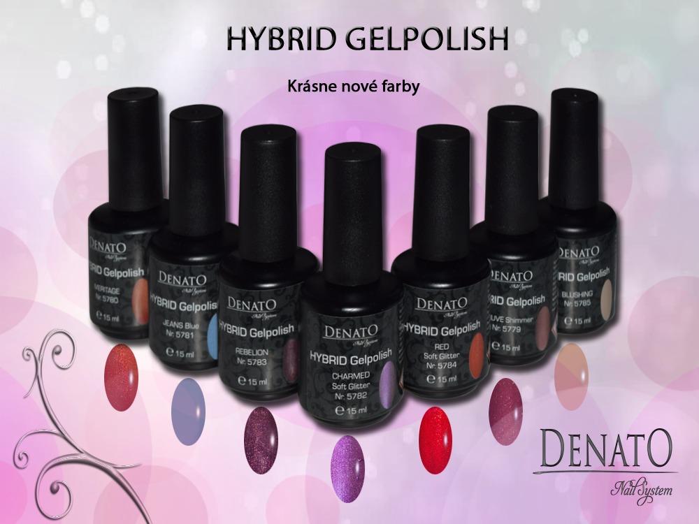 Hybrid Gelpolish CHARMED Soft Glitter