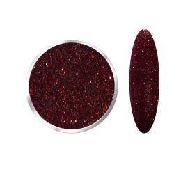 Laser Holographic Wine RED